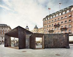 Fährterminal in Stockholm / Poliertes Patchwork - Architektur und Architekten - News / Meldungen / Nachrichten - BauNetz.de