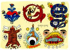 Ricardo Cavolo | Illustrators | Central Illustration Agency #decorative #detail #pattern #illustration #tattoo #edgy