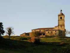 Iglesia de San Pedro en Gernika-Lumo, Vizcaya.