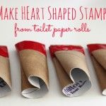 DIY Heart Shape Stamps – Danya Banya We had lots of fun stamping with these DIY heart shaped stamps which we made from - you guessed it - toilet paper rolls! Valentine's Day Crafts For Kids, Valentine Crafts For Kids, Valentines Day Activities, Mothers Day Crafts, Valentine Day Crafts, Art For Kids, Activities For Kids, Craft Kids, Valentine Ideas