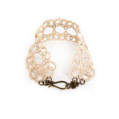 lace bracelet.