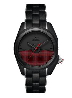 2012 montre Chiffre Rouge Dior M05 acier moulé avec caoutchouc noir, 41mm http://www.vogue.fr/vogue-hommes/montres/diaporama/la-montre-chiffre-rouge-homme-de-dior-horlogerie-celebre-ses-10-ans-2014/20648#!2012-montre-chiffre-rouge-dior-m05-acier-moule-avec-caoutchouc-noir-41mm