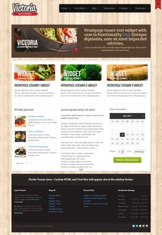 Web & UI | Victoria---Restaurant-Wordpress-Theme