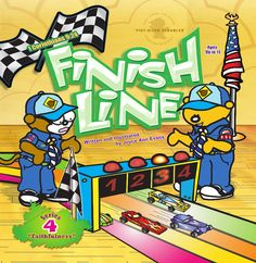Race you to the Finish Line! Today's Free Video Storybook. http://www.StoryCub.com/