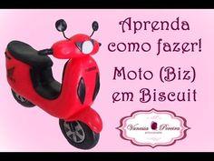 MOTO EM BISCUIT (COMO FAZER) - YouTube
