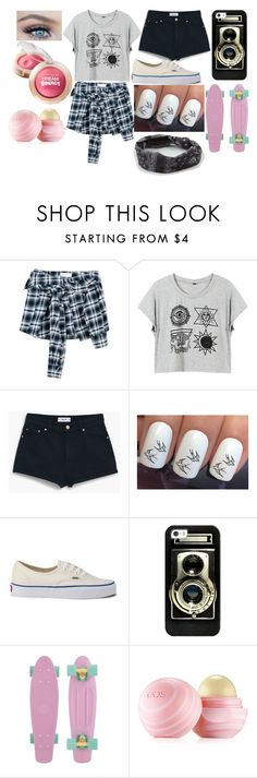 """Skater Girl"" by sofi-the-first1912 on Polyvore featuring Faith Connexion, MANGO, Vans, Casetify, Maybelline, Eos and Full Tilt"