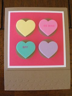 Homemade V-Day Cards