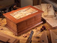 Treasured Wood Jewelry Box - Woodworking Projects - American Woodworker