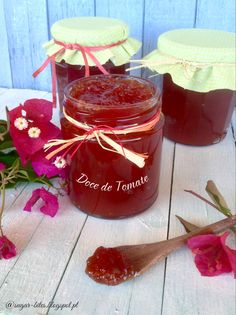 Sugar Bites: Doce de Tomate Yami Yami, Cooking Tips, Cooking Recipes, Jam And Jelly, Spanish Food, Spanish Recipes, Portuguese Recipes, Jam Recipes, Chutney