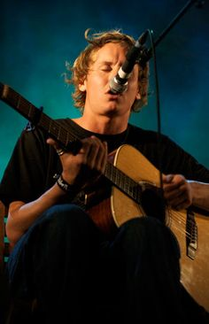 Ben Howard<3 If you haven't heard him, I HIGHLY suggest you go look him up.