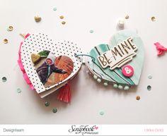 """Mini """"Love You"""" mit Crate Paper """"Hello Love"""" von Ulrike Dold"""