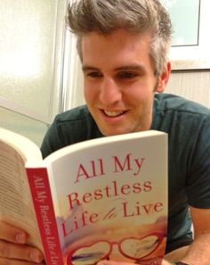 Hey Girl! Ryan Gosling isn't the only guy who likes to read! Thank you Max Joseph, MTVs Catfish: The TV Show!