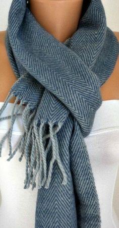 Unisex Schal-WInter-Zubehör stricken Wolle Schal Zick-Zack Cowl Scarf Schal Hals wärmer blau & grauen Geschenk Ideen Men Schal Man Schal von fatwoman auf Etsy https://www.etsy.com/de/listing/108508233/unisex-schal-winter-zubehor-stricken