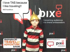 I love TAS because I get to learn about all the cool places I can go!! #DCTravelShow