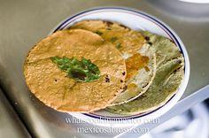 Making tortillas, a photoset