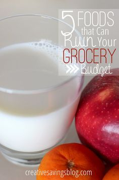 Is your grocery budget out of control? Here's how to pinpoint which foods are ruining your budget, and how to save money on each! v Save Money On Groceries, #SaveMoney