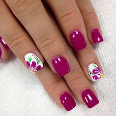 Want to look and feel special on nails this year? Choose nail designs that best describe your dynamic personality and let this season be unique and unforgettable! There are all types of nail art designs, nail colors, acrylic nails, coffin nails, almond na Spring Nail Art, Spring Nails, Summer Nails, Fingernail Designs, Gel Nail Designs, Nails Design, Nail Designs Spring, Summer Pedicure Designs, Nail Art Flowers Designs
