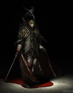 bloodborne character concept by Grobelski on DeviantArt - Modern Bloodborne Concept Art, Bloodborne Art, Bloodborne Characters, Character Concept, Character Design, Video Game Art, Dark Souls, Character Illustration, Macabre