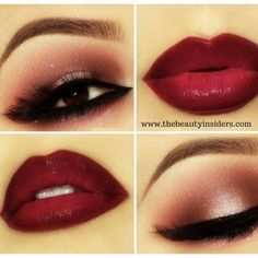 Isn't this perfect #Makeup Look for the #ValentniesDay