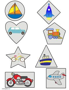 TRANSPORTATION -  Emma's Place Transportation Theme, Worksheets, Logos, Cards, Logo, Literacy Centers, Maps, Playing Cards, Countertops