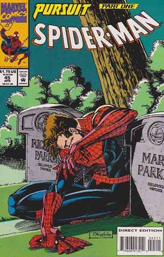 "Peter Parker: Spider-Man (originally titled simply Spider-Man), was a monthly comic book series published by Marvel Comics that ran for 98 issues from 1990-1998. The series originally was conceived as a showcase for Todd McFarlane. McFarlane, who until then had only been known as an artist, was hugely popular at the time and the series was created by editor Jim Salicrup so that McFarlane could pencil, ink, and write a Spider-Man title of his own, starting with the ""Torment"" storyline."