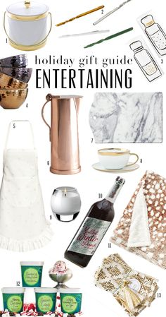 Gift Guide: Entertaining | theglitterguide.com