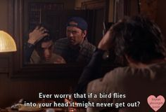 Luke's thoughts on Jess' hair - Gilmore Girls Movie Quotes, Funny Quotes, Team Logan, Gilmore Girls Quotes, Girlmore Girls, Lorelai Gilmore, Favorite Tv Shows, Favorite Quotes, Best Tv