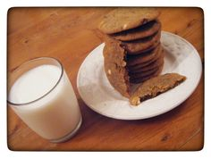 Chocolate Chip Cookies and The Start of the Chocolate Chip Cookie Journey from my blog I'd Much Rather Bake Than...