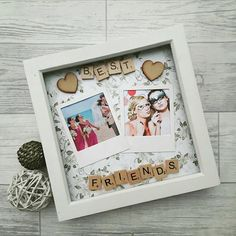 Check out this item in my Etsy shop https://www.etsy.com/uk/listing/496857428/gift-for-best-friend-best-friends-frame #giftsforfriend