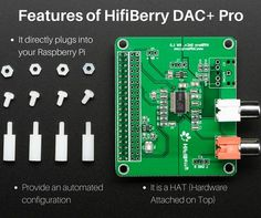 If you have Raspberry Pi device, then you want the sound card for listening sound. DAC+ Pro sound card from HifiBerry provides you the listening audio from the #raspberrypi device. https://www.raspberrypistarterkits.com/2017/03/05/hifiberry-dac-pro-review/