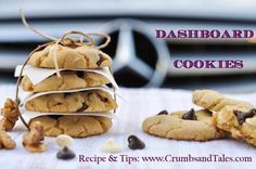Dashboard Cookies - Make the most of the summer heat and harness the power of the sun to bake cookies on your car's dashboard! Recipe + Tips to perfect these cookies at http://crumbsandtales.com/dashboard-cookies-how-to-bake-cookies-in-a-scorching-hot-car/