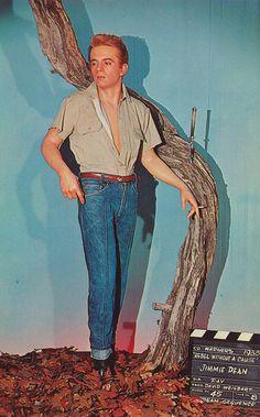 Creepy James Dean at Movieland Wax Museum - Buena Park, California