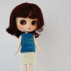 Ravelry: Sleeveless Sweater for Middie Blythe pattern by Anne Heidemann