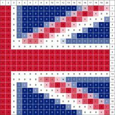Patchwork (half) Union Jack