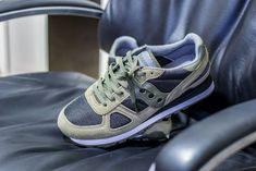 Click to see my pickup video of the Saucony Shadow Original in Olive and Black and find out where to buy a pair yourself