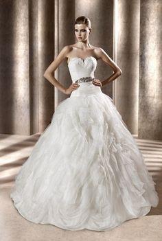 Vestidos de novia verano 2012