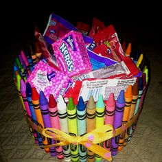 Crayon Candy Dish... a school parent gave me this for valentines... thanks erin! i love it!
