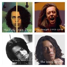 Tears For Fears Timeline as told by Roland's hair