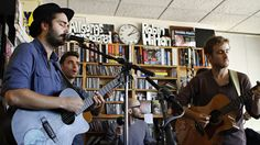 Lord Huron performs a Tiny Desk Concert on Oct. 10, 2012.