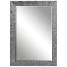 "Uttermost Tarek 42"" High Silver Decorative Wall Mirror -"