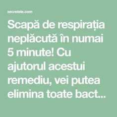 Scapă de respirația neplăcută în numai 5 minute! Cu ajutorul acestui remediu, vei putea elimina toate bacteriile din cavitatea bucală! - Secretele.com Seafood Appetizers, Natural Living, Metabolism, Body Care, Natural Remedies, Health Fitness, Wellness, Healthy, Nature