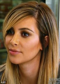 Kim Kardashian: I want my eyebrows to look just like this!
