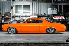 A good thing can always be made better, as Shaun Horton proves with this wilder-than-wild Tangarine Orange Holden HQ Monaro Holden Muscle Cars, Aussie Muscle Cars, American Muscle Cars, Hq Holden, Holden Torana, Woman Mechanic, Australian Cars, Air Ride, Drag Cars