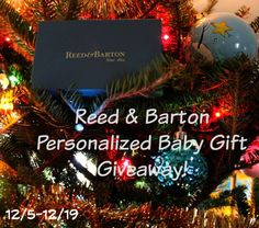 Personalized Baby Gifts from Reed & Barton (Review & Giveaway) - *