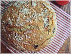 paine cu masline - fara framantare Bread, Romania, Food, Brot, Essen, Baking, Meals, Breads, Buns