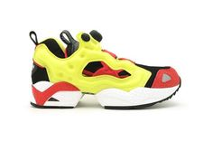 The Reebok Insta Pump Fury Firecracker Red is Vibrantly Bold #shoes #footwear trendhunter.com