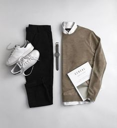 How To Wear Sweater & Shirt Like A Fashion Blooger — MEN'S FASHION LAB