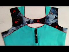 Hi Friends, In this video I will teach you how to make a Creative and very latest neck design by New Kriti Boutique. Creative neck design If you like this de. Chudithar Neck Designs, Kids Blouse Designs, Salwar Neck Designs, Churidar Designs, Kurta Neck Design, Neck Designs For Suits, Neckline Designs, Designs For Dresses, Blouse Neck Designs