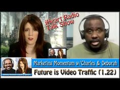According to surveys, 50% of traffic is video.  Are you ready?  Listen to Charles and Deborah as they chat about this and review YouTube Channels on this episode of #MarketingMomentum w/Charles & Deborah #SocialCafe Social Web Cafe TV