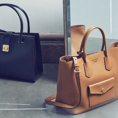 These handbags are what you call ''closet lifers. Best Handbags, Prada Handbags, Beautiful Handbags, Beautiful Bags, Prada Outlet, Prada Tote Bag, Best Bags, Online Bags, Fashion Bags